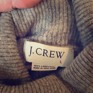 2001 Lambswool J. Crew Men's Large Grey Sweater